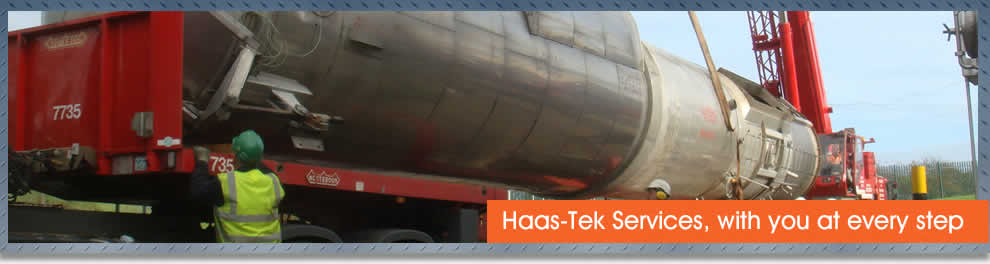Process plant relocation service