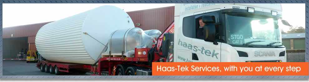 Process plant relocation services