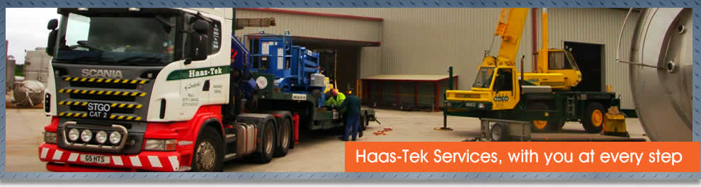 Job vacancies in the Industrial Services Sector at Haas-Tek Services Ltd