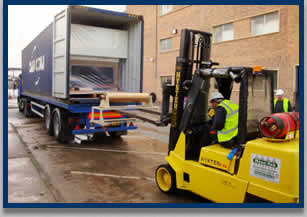 Complete machinery relocation service