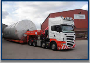 Abnormal load haulage