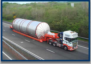 Specialist haulage vehicles
